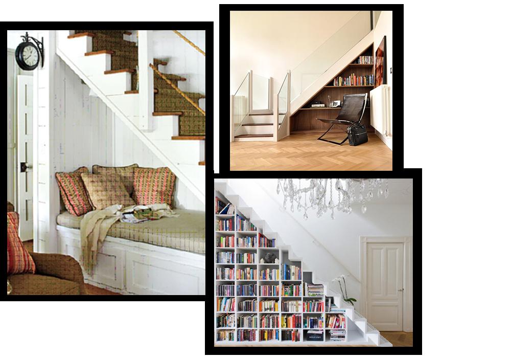 Hacer ba o bajo escalera for Decoracion de espacios bajo la escalera